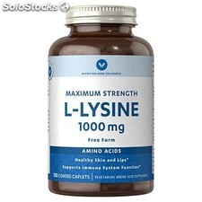 l-lisina 1000 mg 120 comprimidos vitamin world
