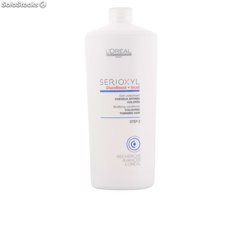L'Oreal Expert Professionnel SERIOXYL bodyfying conditioner coloured hair step 2