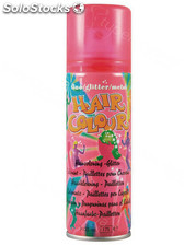 Laca Color Hair Color y Purpurina Rojo 125ml