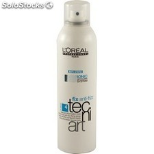 Laca de Fijación Media Lóreal Tecniart Fix Anti Frizz 250 ml
