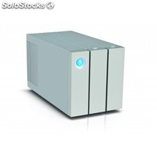 LaCie - 2big Thunderbolt 2 8000GB Escritorio Plata unidad de disco multiple