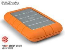 LaCie Rugged HD 500GB FireWire e USB [74871712]