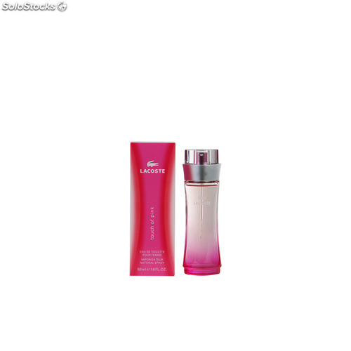 Lacoste touch of pink edt vaporizador 50 ml