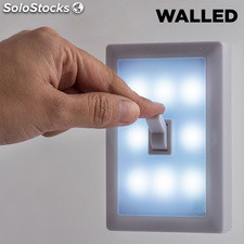 Lampada LED portatile con interruttore Walled SW15