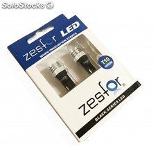 Lampadine Led Diamante Bianco W5w/t10 - Zesfor Black Series - Zesfor