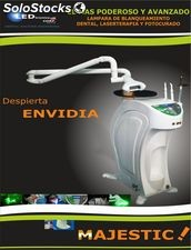 Lampara Blanqueamiento Dental Laser Led Majestic