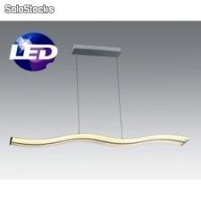 Lampara de techo suspendida led 45w dune santelices c14100-1