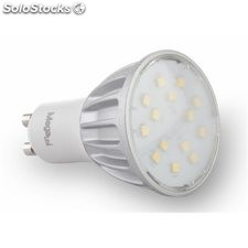 Lampara Dicroica Led Gu10 5W 430Lm 3000K Megaled
