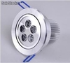Lámpara Downlight led 5Watts con voltaje 110v /220v /127v