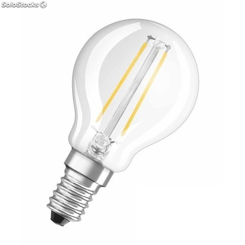 Lampara Esferica Led E14 2W 230Lm 2700K Osram