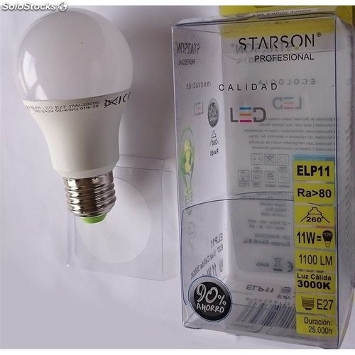 Lampara Estandar Led E27 15W 1500Lm 6400K Starson