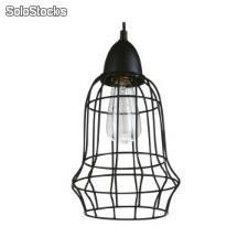 Lámpara lamparas techo suspension industrial Birdcage a