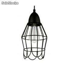 Lámpara lamparas techo suspension industrial Birdcage c