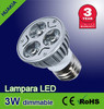Lámpara led 3W Iluminacion focos led( Regulables)