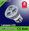 Lámpara led 3W( Regulables)