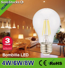 Lampara led 4W(A60 Transparente)