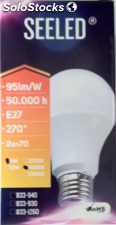 Lámpara Led Estandar de 9w E27 4000K