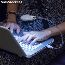 Lámpara LED Flexible USB para Ordenador