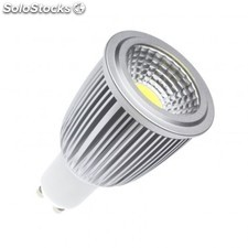 Lámpara led gu10 cob 90º 7w regulable