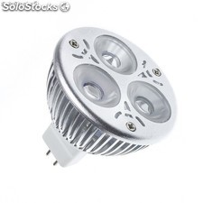 Lámpara led GU5.3 MR16 12V dc 60º 3W