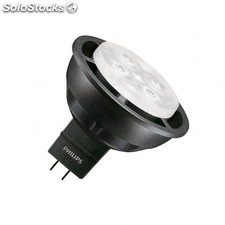 Lámpara led gu5.3 mr16 philips master 12v spotlv vle 6.3w 36º black