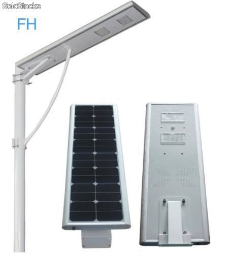Lampara solar lampara solar integrada solar led 30w for Lampara solar led