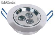 Lámparas empotrables de techo led de 3w Th002-