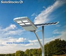 lamparas Solar led Integradas de calle 72w/ 96w