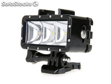 Lampe LED waterproof 30M pour Gopro