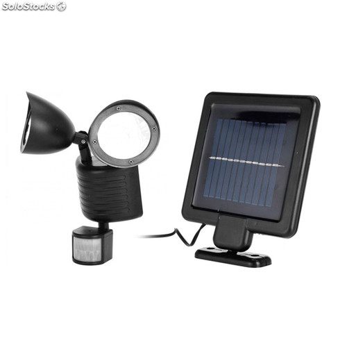 lampe solaire avec capteur de mouvement oh my home. Black Bedroom Furniture Sets. Home Design Ideas