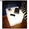 Lampe Table de Nuit plexiglas luminis blanc - Photo 2