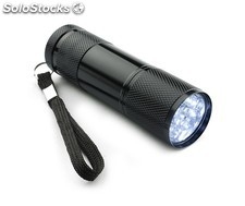 Lampe torche ray, 9 led noire