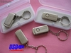 Lancer marca giratorio usb 8gb memoria acero inoxidable - Foto 2