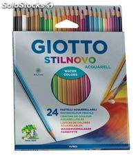 Lapicero lapizs color acuarell giotto stilnovo cj24 uds. 255800