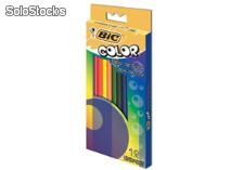 Lapis de cor bic color