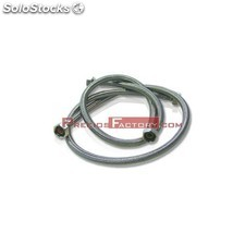 Latiguillo flexible malla acero inox h-h 1/2. 400