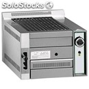 Lava rock chargrill b - equipped for methane - mod. b 50 - polished opaque cast