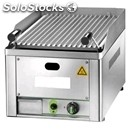 Lava rock chargrill gl - equipped for lpg - mod. gl 40 - stainless steel cooking