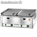Lava rock chargrill gl - equipped for lpg - mod. gl 70 - stainless steel cooking