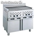 Lava stone grill - mod. 2100/r2m - single unit understorage - power kw/h 22,52 -