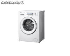 Lavadora Carga Frontal Panasonic NA-128VB6WES Outlet 8kg 1200rpm LCD A+++ blanco