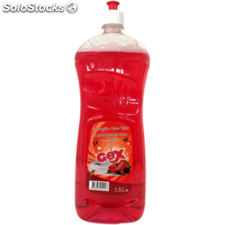 Lavavajillas frutos rojos 1500 ml.