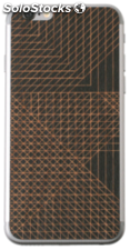 Lazerwood Cell Divisions negro iPhone 6 Skins