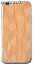 Lazerwood Chevron cherry iPhone 6 Skins