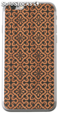 Lazerwood Clementine negro iPhone 6 Skins
