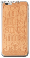 Lazerwood Loose Lips cherry iPhone 6 Skins