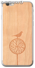 Lazerwood Treebird cherry iPhone 6 Skins