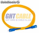 LC fibrá óptica cable patch cordfiber optic 3m