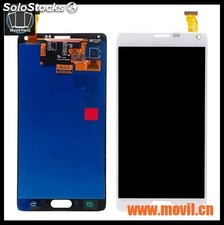 Lcd Display+touch Samsung Note 4 Dorado Blanco Y Negro