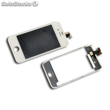 LCD + Tactil para iPhone 4 A1332 / A1349 color blanco
